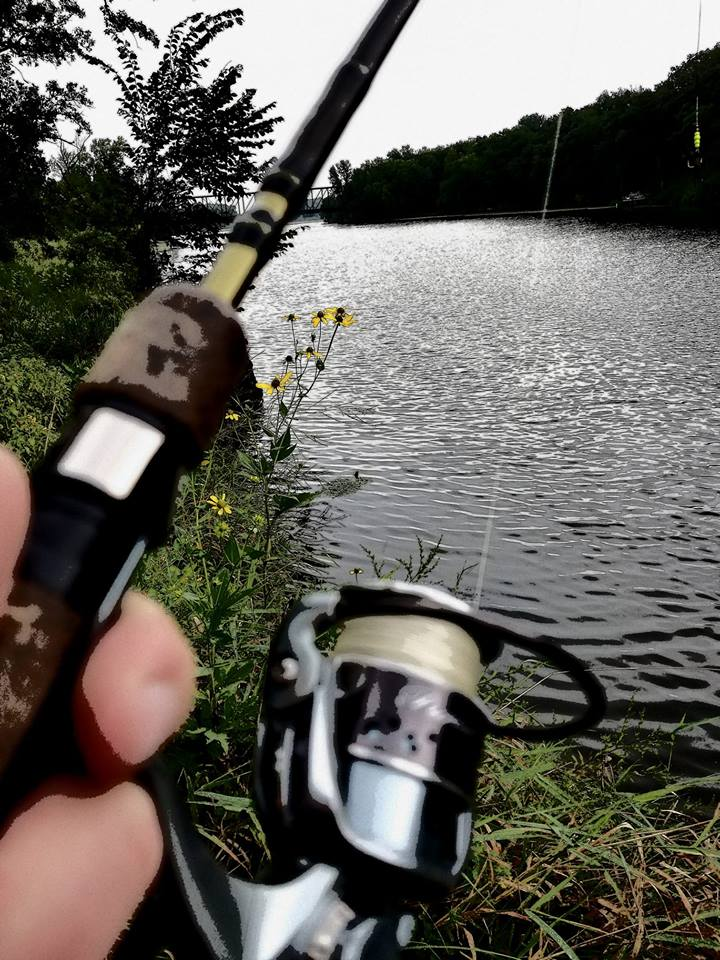 ramsey mill pond fishing sept 2018 - joe mcbeain