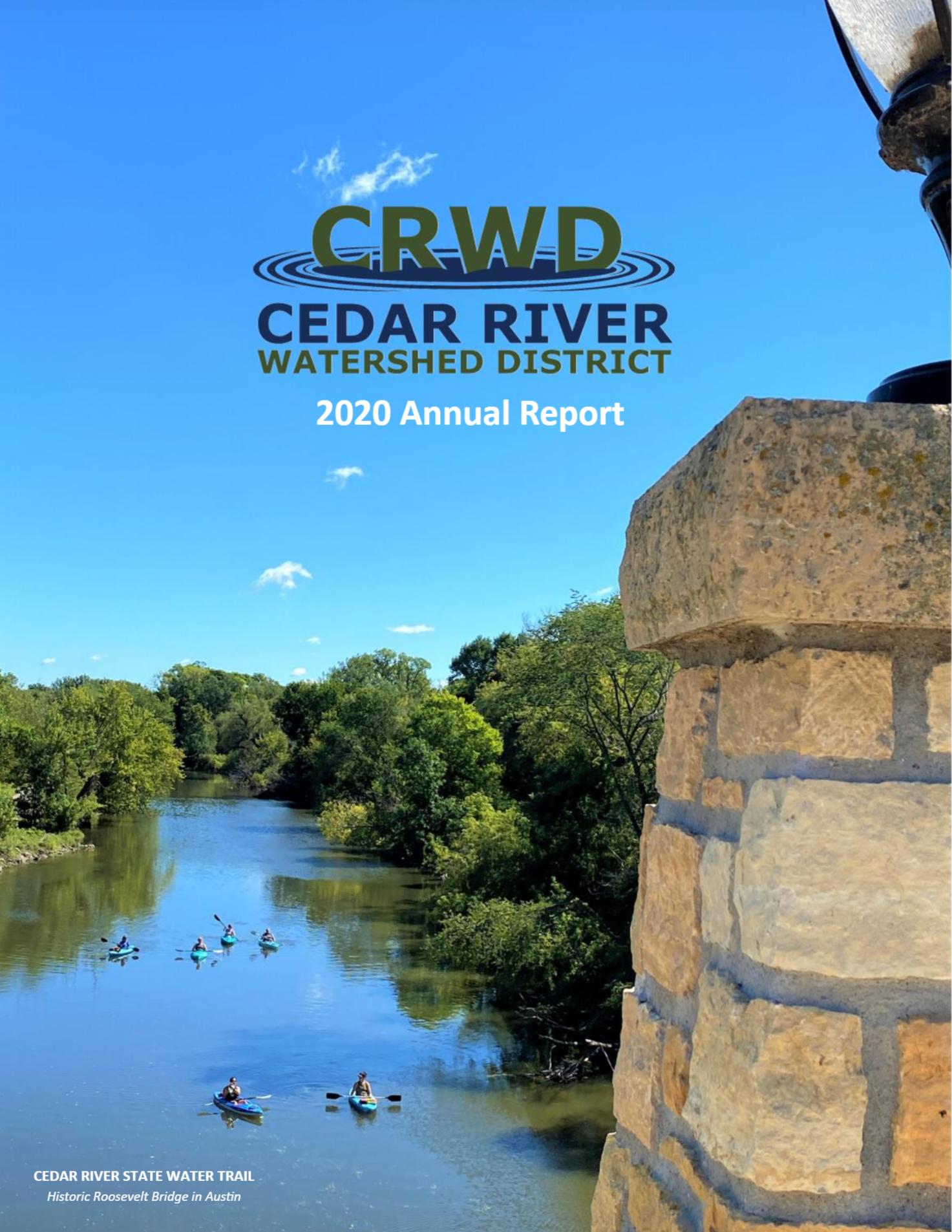 2020 crwd annual report COVER